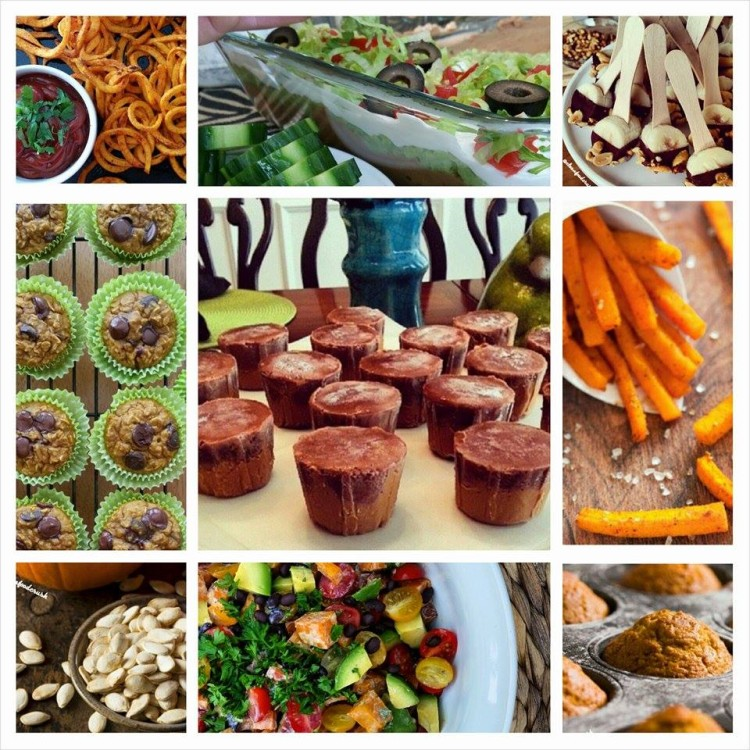 Clean Food Crush Halloween and Fall Recipe Round Up - 10 Clean Favorites!