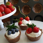 Oats N Cacao Berry Cups
