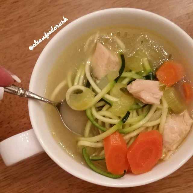 Zoodle Turkey Soup Recipe