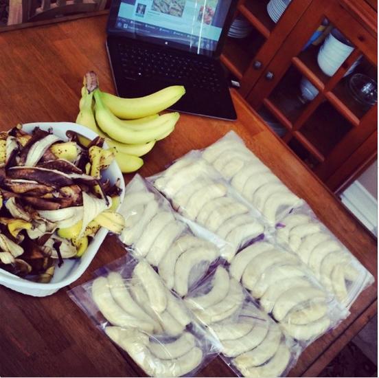 Frozen Banana Meal Prep
