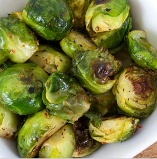Oven Roasted Brussel Sprouts - Perfect Holiday Sidedish | Clean Food ...
