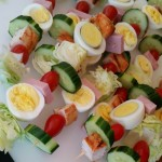 Cobb Salad On-a-Stick