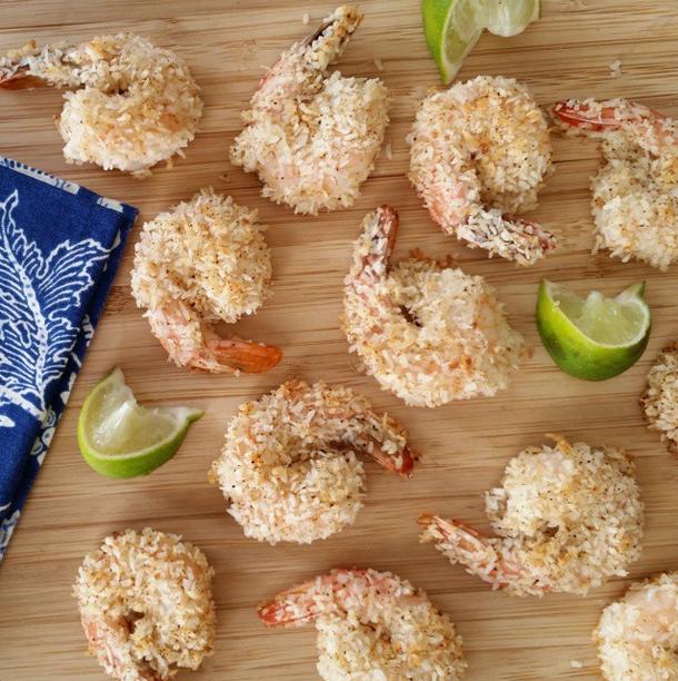 Baked Chili Coconut Shrimp