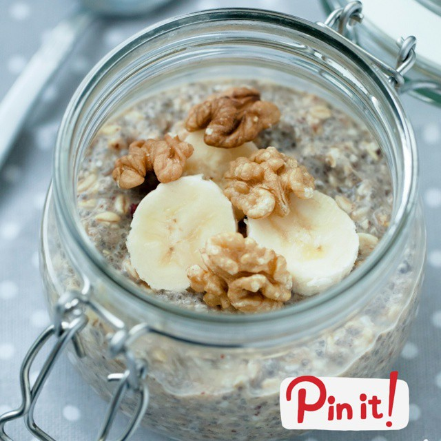 Banana Nut Bread Overnight Oats Clean Eating Recipes