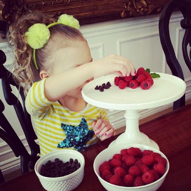 chocolate chip raspberries
