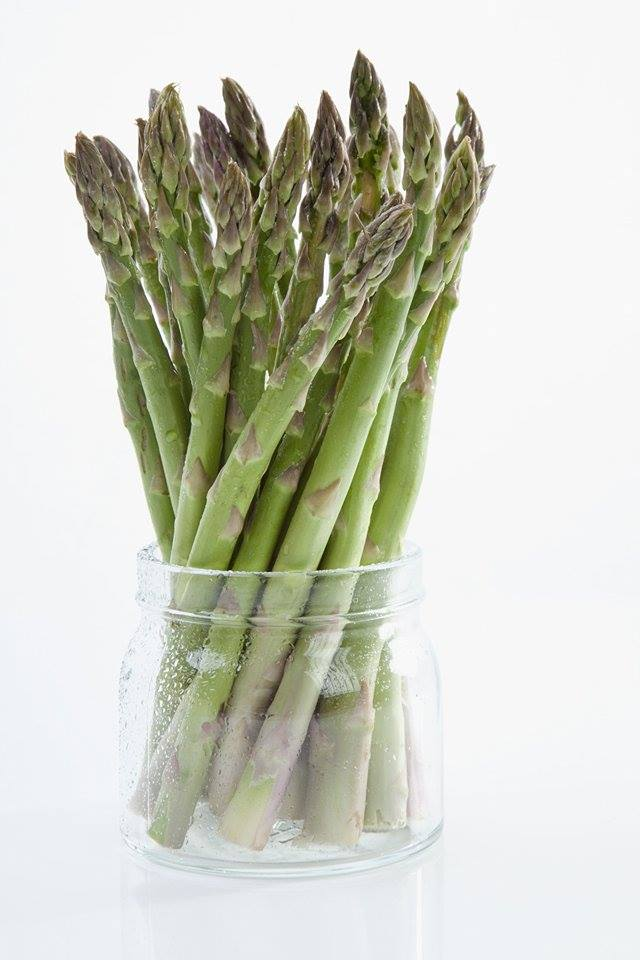 store FRESH asparagus in the refrigerator