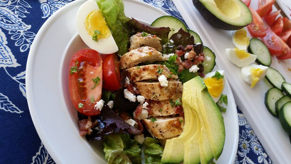 Chicken Cobb Salad | Clean Food Crush