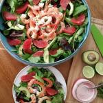 Gluten Free, Refined Sugar Free - Simple Grapefruit Vinaigrette Salad Dressing - Light & Fresh Recipe http://cleanfoodcrush.com/grapefruit-vinaigrette/