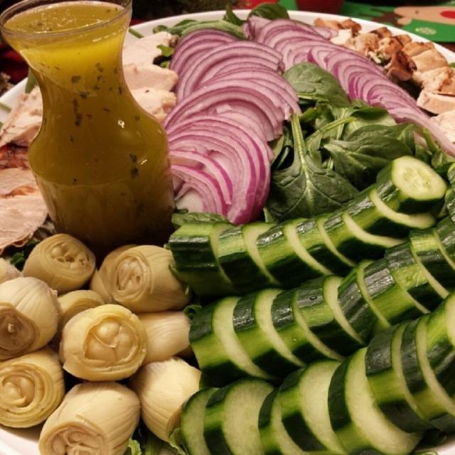 Detox Greek Salad