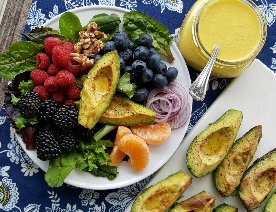 Avocado Salad With Citrus Vinaigrette Recipe — Dishmaps