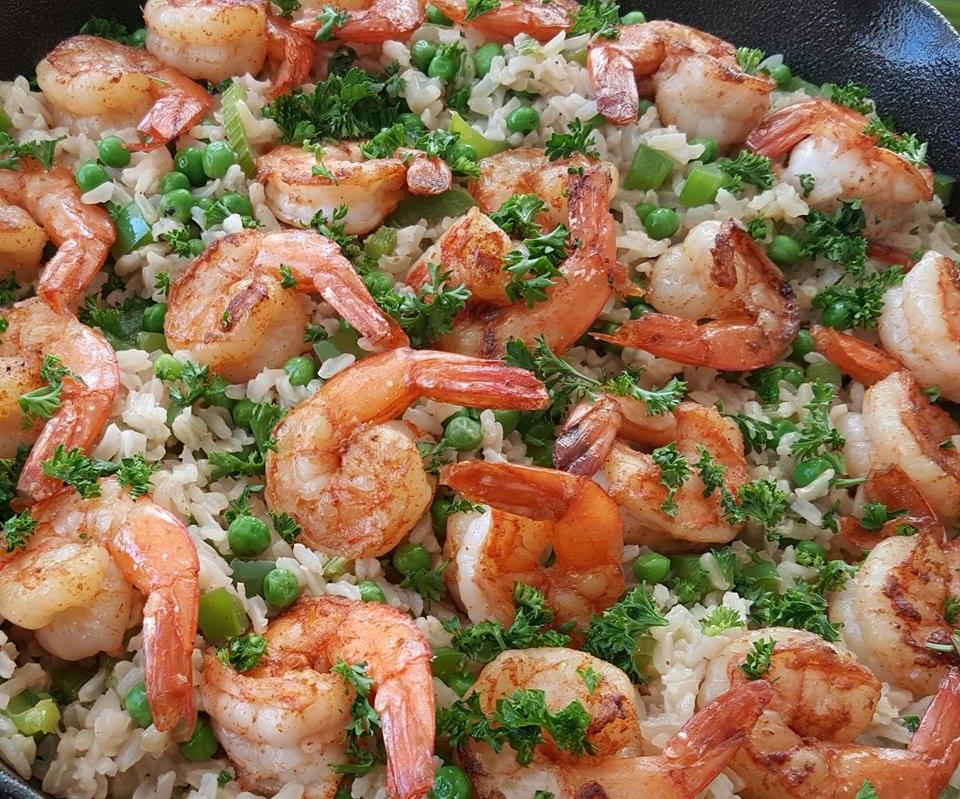 Fast easy 1 pan shrimp dinner clean food crush fast easy 1 pan shrimp dinner forumfinder Image collections
