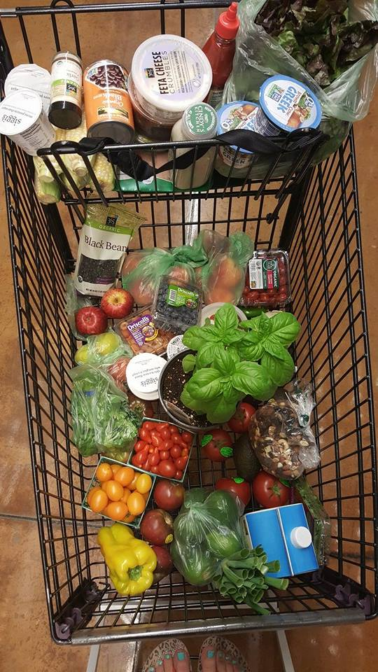 Clean Eating Shopping Cart http://cleanfoodcrush.com/build-a-bowl/