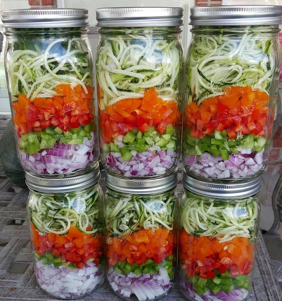 Prep Ahead Omelet Jars http://cleanfoodcrush.com/omelet-prep-ahead-jars/ 