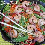 Asian Zucchini Noodle Stir-Fry http://cleanfoodcrush.com/asian-zucchini-noodle-stir-fry-garden-zucchini