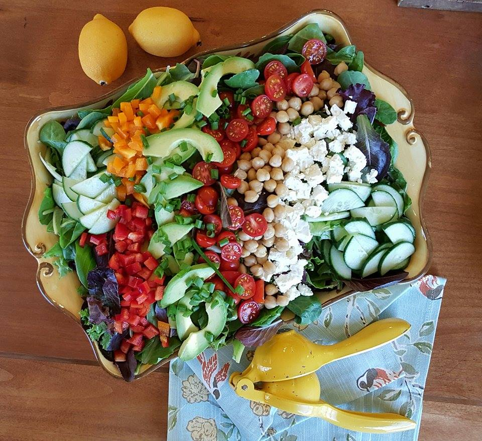 Feta & Chickpea Salad Clean Recipe