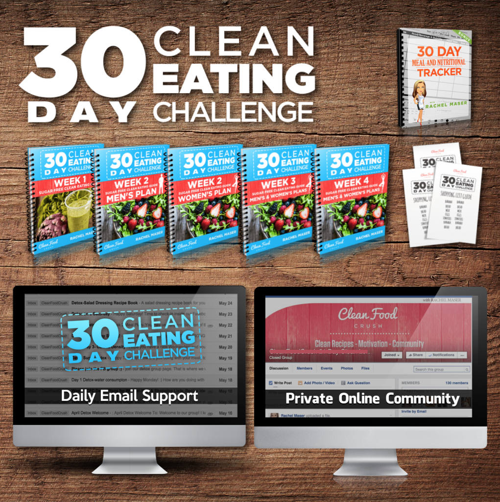 30 Day Clean Eating Challenge Bundle