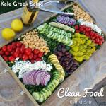 CleanFoodCrush Kale Greek Salad