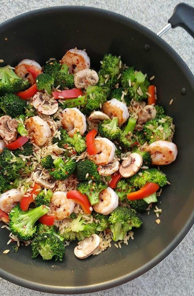 Sautéed Shrimp & Broccoli - Better than Takeout http://cleanfoodcrush.com/shrimp-broccoli