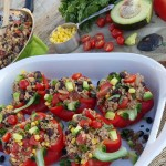 Clean Eating Taco Stuffed Peppers