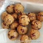 Sunflower Seed Protein Balls http://cleanfoodcrush.com/sunflower-seed-protein-balls
