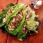 Clean Eating Chicken Salsa Lettuce Wraps http://cleanfoodcrush.com/chicken-salsa-lettuce-wraps/