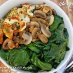 Mushroom and Chicken Marsala Clean Eating Bowls http://cleanfoodcrush.com/mushroom-chicken-marsala-clean-eating-bowls