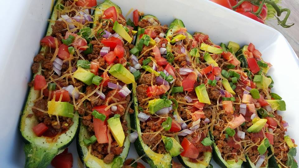 Beef Enchilada Zucchini Boats CleanFoodCrush Clean Eating Recipe
