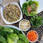Clean Eating Turkey Lettuce Wraps http://cleanfoodcrush.com/turkey-lettuce-wraps