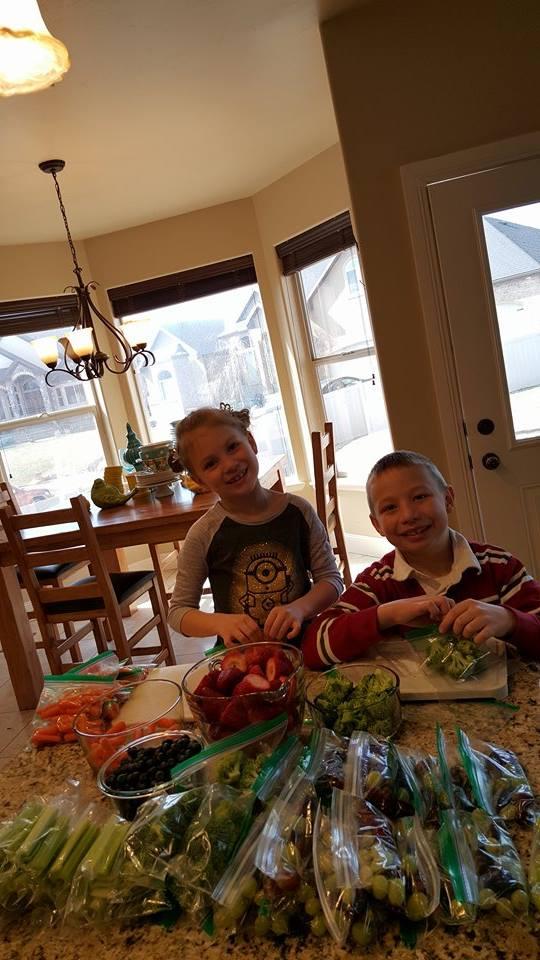 Kids Snack Prep