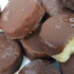 Frozen Chocolate-Dipped Banana Slices