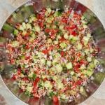 Quinoa Tabouli Clean Eating Recipe  http://cleanfoodcrush.com/quinoa-tabouli/ 