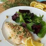 Turkey Tenderloin with Fresh Lemon-Thyme Sauce