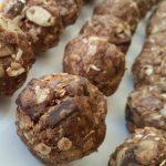 No-Bake Almond Joy Protein Balls
