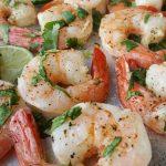 Clean Eating Cilantro-Lime Shrimp http://cleanfoodcrush.com/cilantro-lime-shrimp/