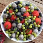 Dragonfruit Watermelon Summer Fruit Salad
