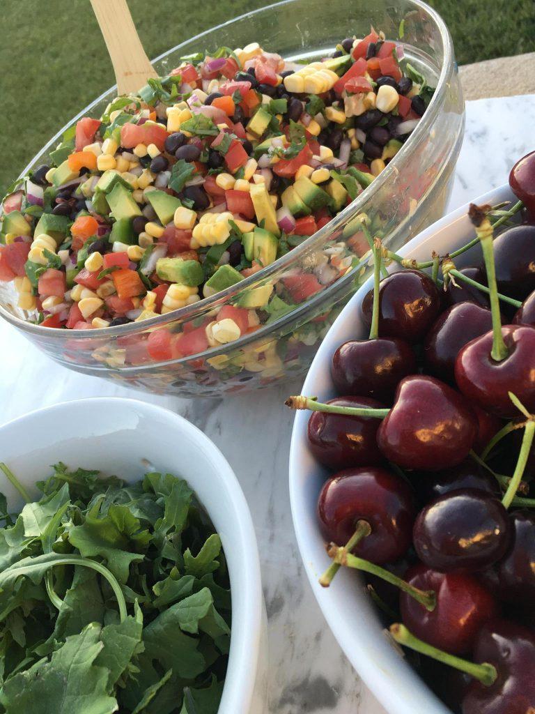 Famous Black Bean Summer Salsa CleanFoodCrush http://cleanfoodcrush.com/black-bean-kale-salsa/
