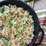 Riced Cauliflower Recipe