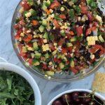 The Famous Black Bean Summer Salsa http://cleanfoodcrush.com/black-bean-kale-salsa/