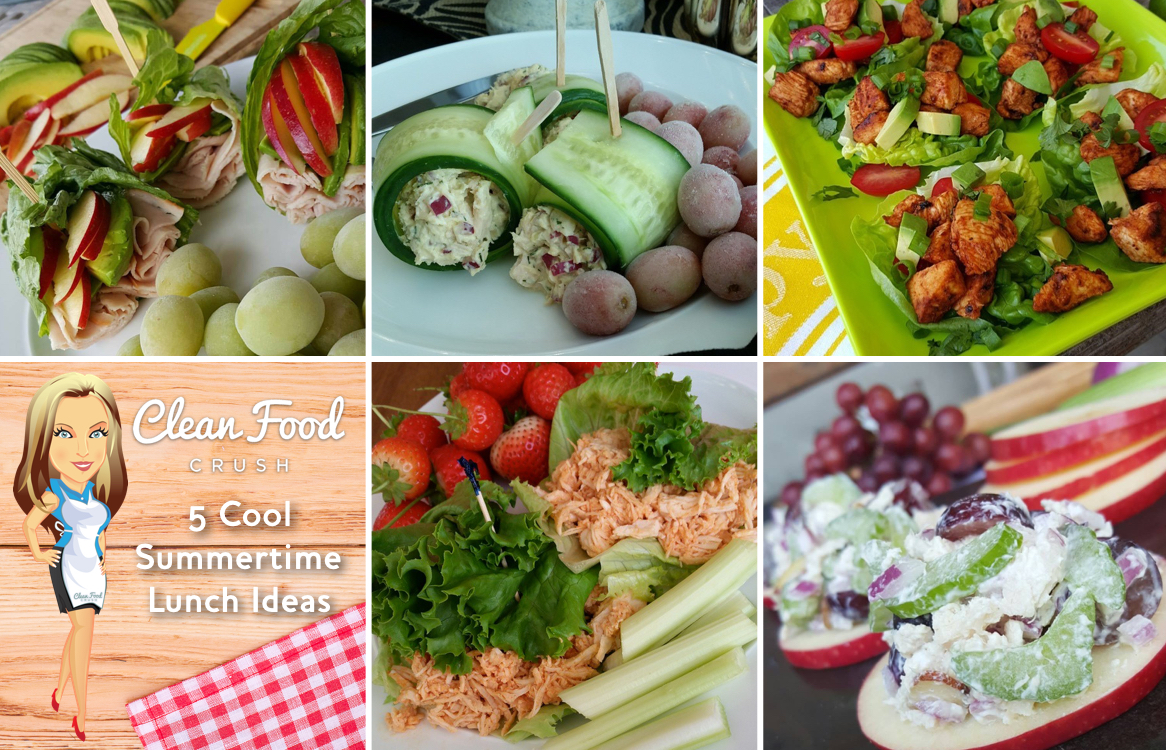 5 cool summertime lunches