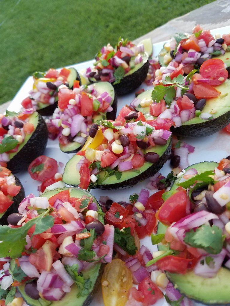 Avocado Cups http://cleanfoodcrush.com/avocado-cups/