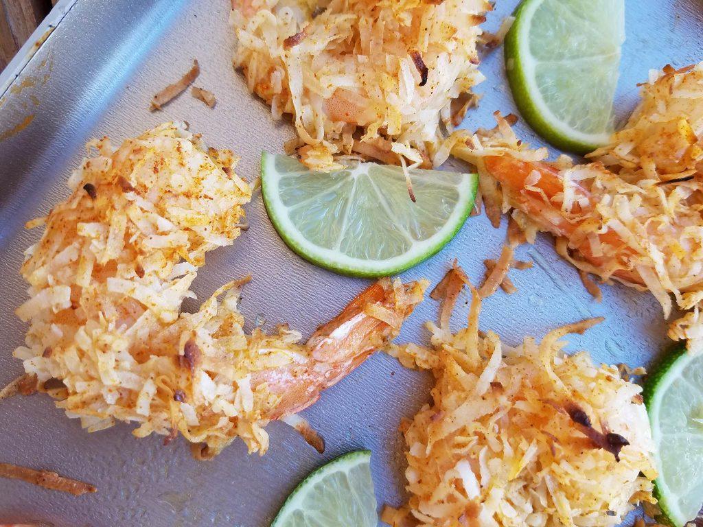 Baked Coconut Shrimp http://cleanfoodcrush.com/baked-chili-coconut-shrimp