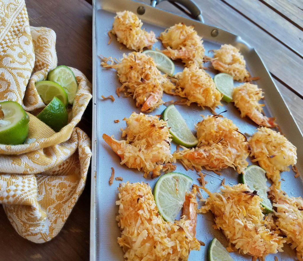 Baked Chili Coconut Shrimp http://cleanfoodcrush.com/baked-chili-coconut-shrimp