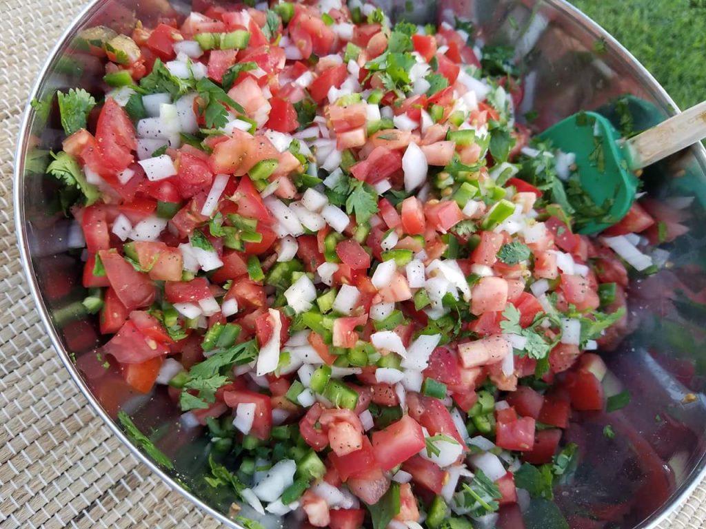 Fresh Homemade Salsa http://cleanfoodcrush.com/pico