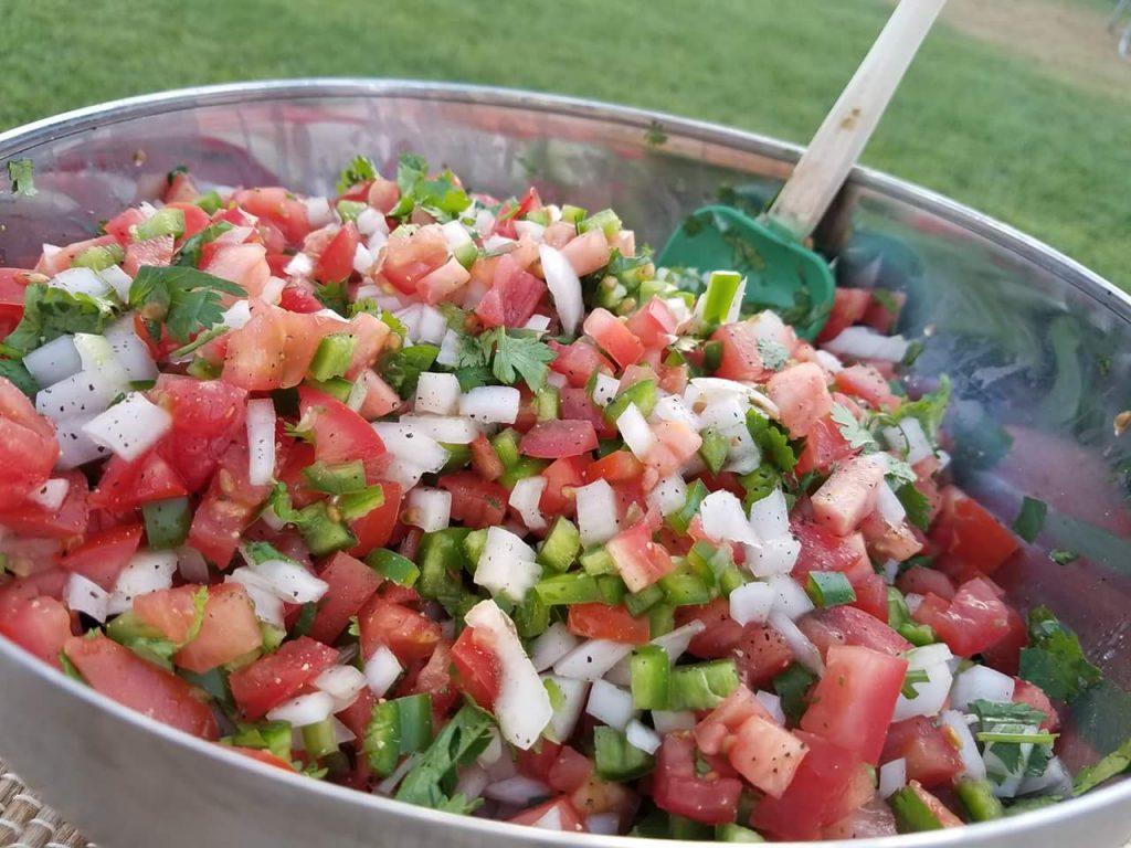 Fresh Pico De Gallo Recipe http://cleanfoodcrush.com/pico