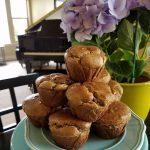 Grain free Banana Almond Muffins