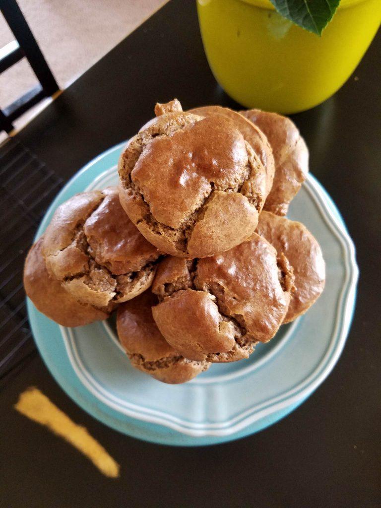 Grain-free Banana Almond Muffins Recipe http://cleanfoodcrush.com/banana-almond-muffins/