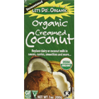 Amazon.com : Let's Do Organic Creamed Coconut, 7-Ounce Boxes (Pack of 2) : Grocery & Gourmet Food