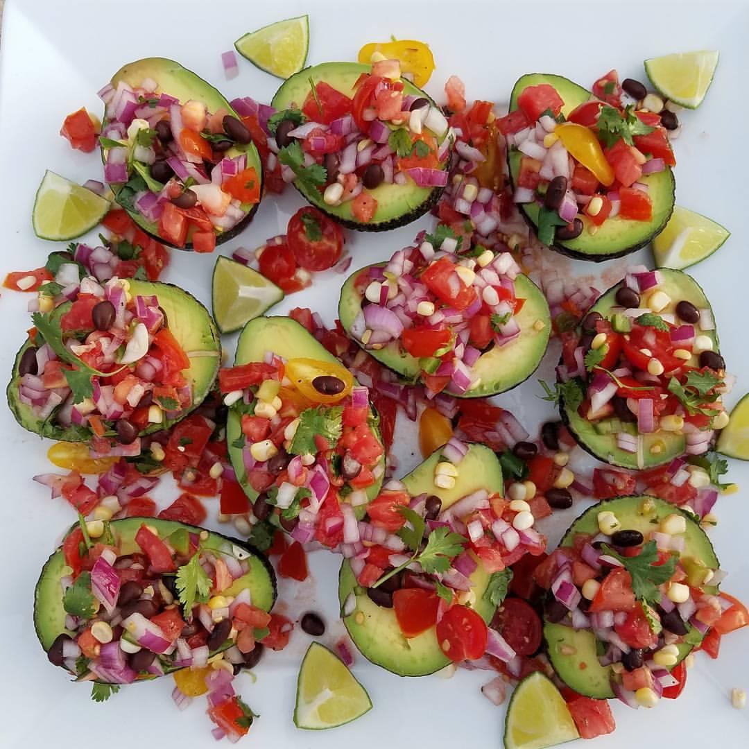 Party Avocado Cups http://cleanfoodcrush.com/avocado-cups/