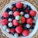 Red, White, & Blue Fruit Salad