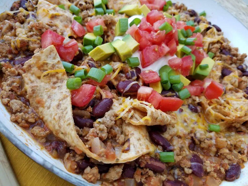 Weeknight Burrito Skillet http://cleanfoodcrush.com/burrito-skillet/